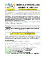 bulletin information