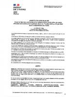 AP LOUTRE-CASTOR 2020-2021 signé et enregistré